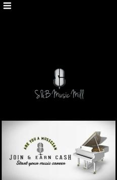 SB Music Mill poster