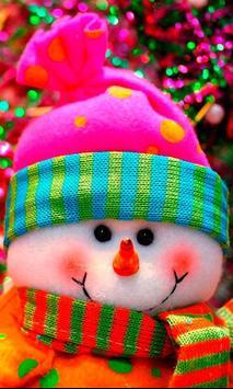 Winter Snowman live wallpaper apk screenshot