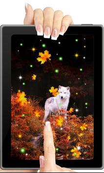 Wolf Autumn live wallpaper apk screenshot