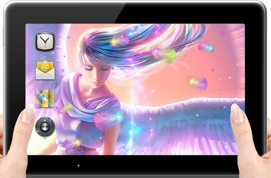 Angels live wallpaper apk screenshot
