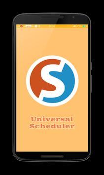 Universal Scheduler poster