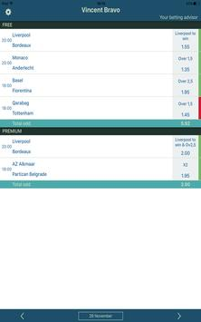 Winning Outright Bets & Betting Tips for Tennis VB screenshot 11