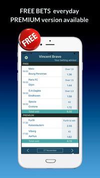 VIP Betting Tips & Predictions Expert for Football apk screenshot