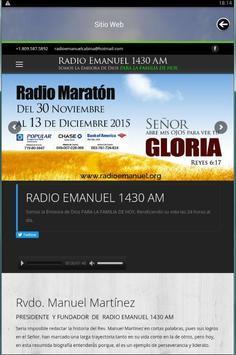 Radio Enmanuel screenshot 1