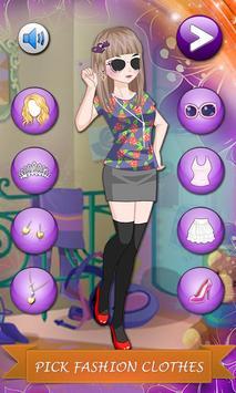 Girls Room: Dressup Game screenshot 1