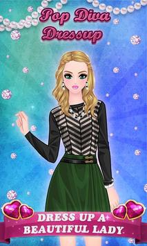 Pop Diva - Dressup Game poster