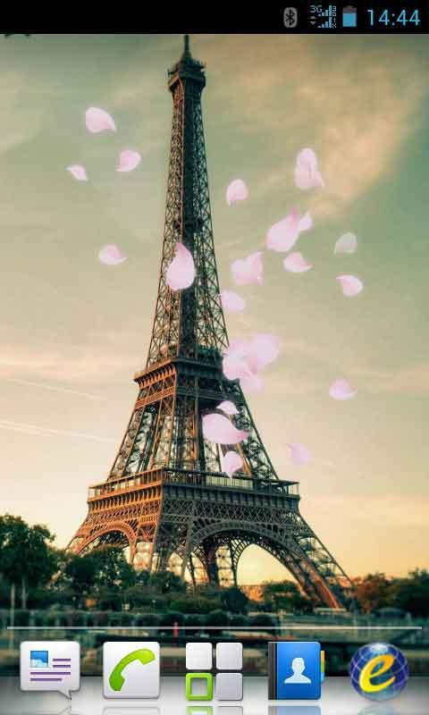 Eiffel tower live wallpaper for android apk download - Paris tower live wallpaper ...