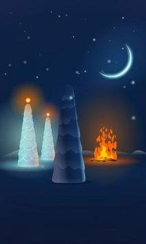 Christmas Snow Live Wallpaper apk screenshot