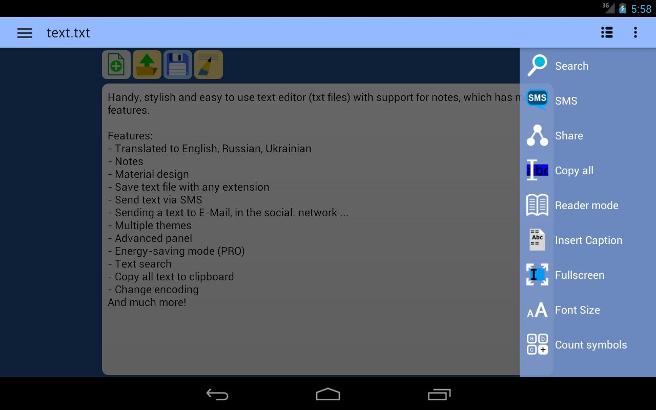 pdf text editor for android