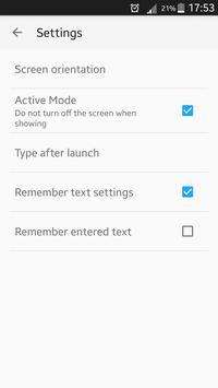 VLk Big Text syot layar 4