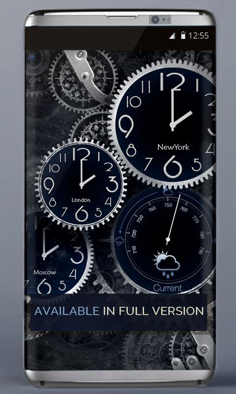 black clock live wallpaper full version free download