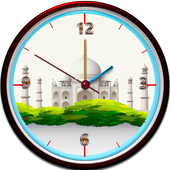 Tajmahal Clock Live Wallpaper icon