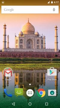 Tajmahal Live Wallpaper screenshot 1