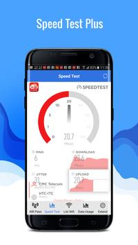 Speed Test Plus - Wifi Protect - Network Master poster