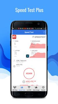 Speed Test Plus - Wifi Protect - Network Master apk screenshot