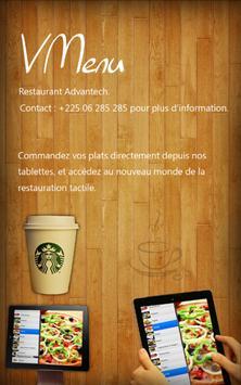 Vmenu Virtual Restaurant Menu screenshot 1