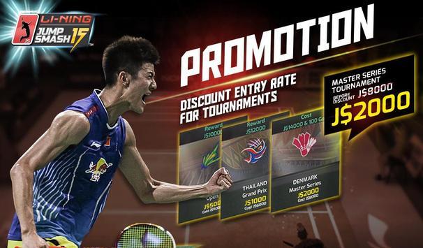 LiNing Jump Smash 15 Badminton screenshot 16