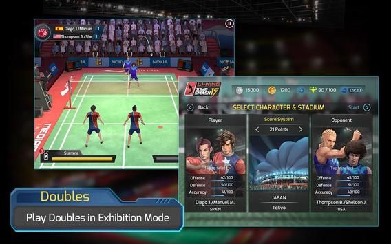 LiNing Jump Smash 15 Badminton screenshot 12