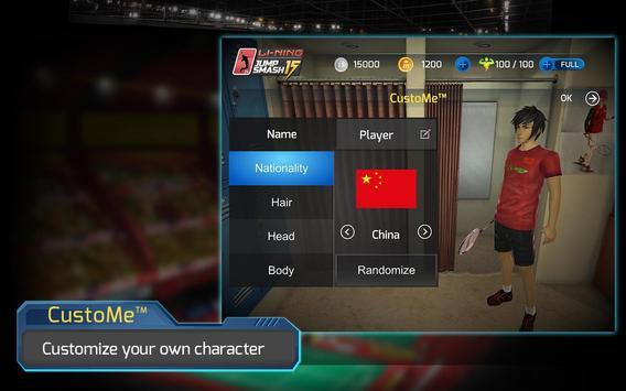 LiNing Jump Smash 15 Badminton screenshot 13