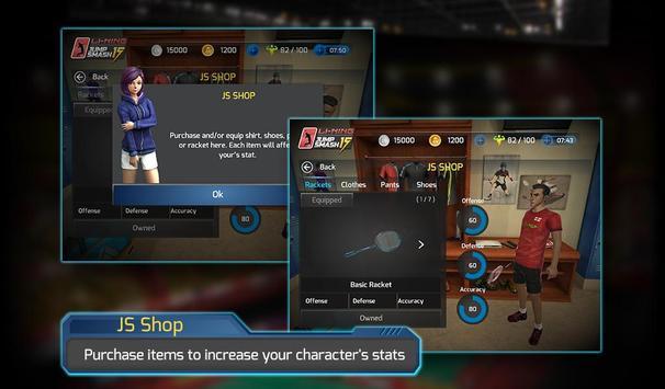 LiNing Jump Smash 15 Badminton screenshot 22