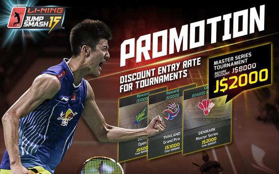 LiNing Jump Smash 15 Badminton screenshot 8