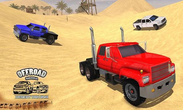 Offroad Sierra Desert Drive 3D poster