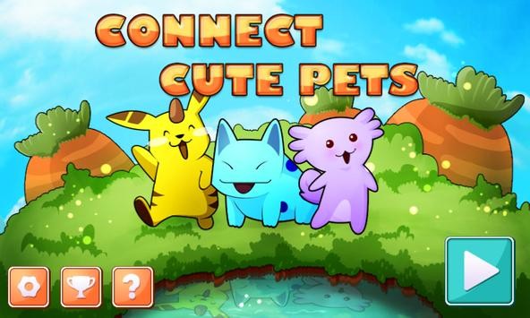 Connect Cute Pets poster