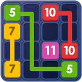 Block Puzzle Connect Number: 123x4 icon