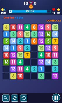 Block Puzzle Connect Number: 123x4 screenshot 3