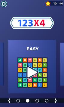 Block Puzzle Connect Number: 123x4 poster