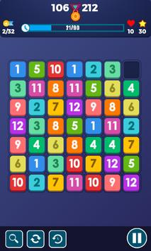 Block Puzzle Connect Number: 123x4 screenshot 1