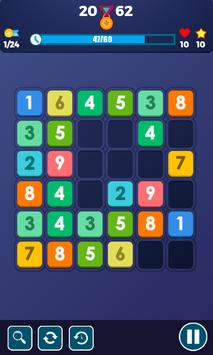 Block Puzzle Connect Number: 123x4 screenshot 2