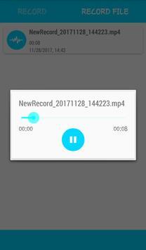 Voice & Audio Recorder apk screenshot