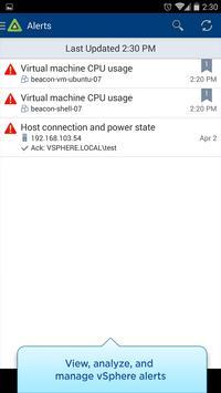 vSphere Mobile Watchlist Screenshot 3