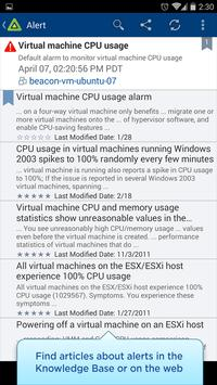vSphere Mobile Watchlist Screenshot 4