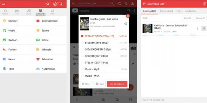 Vid Mate HD Video Downloade apk screenshot