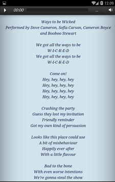 New music descendants 2 all songs lyrics apk baixar grtis new music descendants 2 all songs lyrics apk imagem de tela stopboris Images