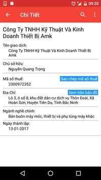 Thông Tin Doanh Nghiệp apk screenshot