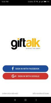 Giftalk poster
