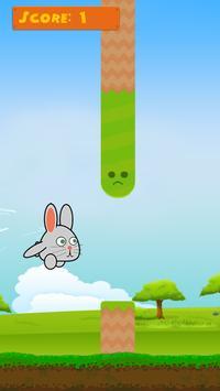 Hoppy Bunny - A Flappy Journey screenshot 1