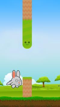 Hoppy Bunny - A Flappy Journey screenshot 2