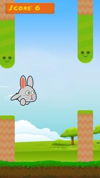 Hoppy Bunny - A Flappy Journey screenshot 4