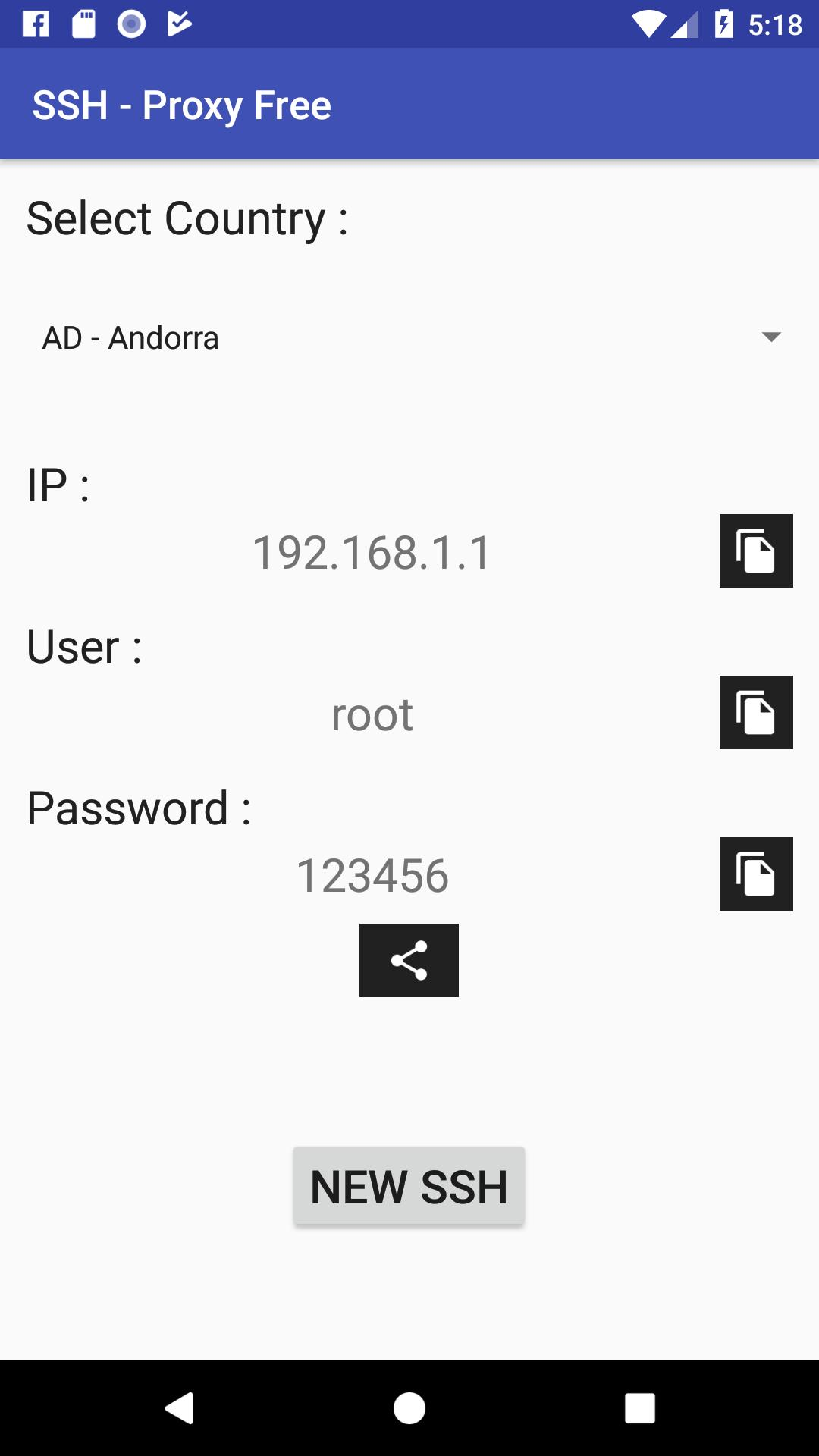 SSH - Vip IP - Proxy Free for Android - APK Download