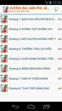 Vương bài hãn phi apk screenshot