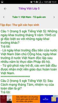 Tieng Viet Lop 5 screenshot 1