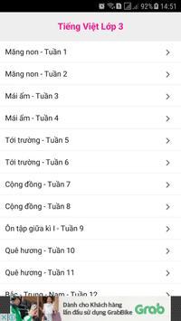Tieng Viet Lop 3 screenshot 4