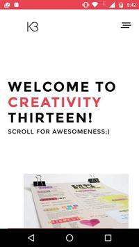 Kreativity13 poster