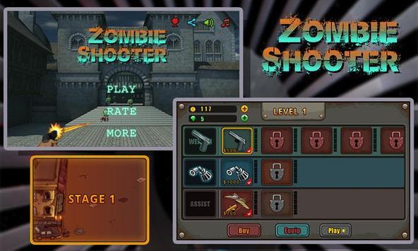 Zombie Shooter screenshot 1