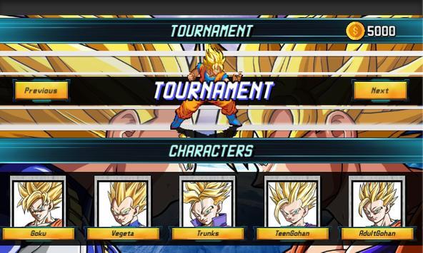 Super Saiyan Goku: Dragon Z Fighter スクリーンショット 4
