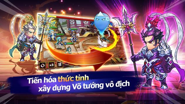 Phong Lưu Tam Quốc Mobile apk screenshot